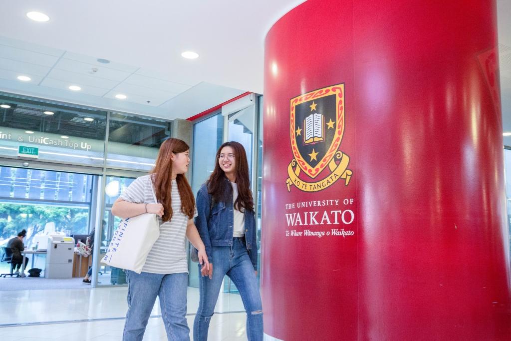 ワイカト大学への進学